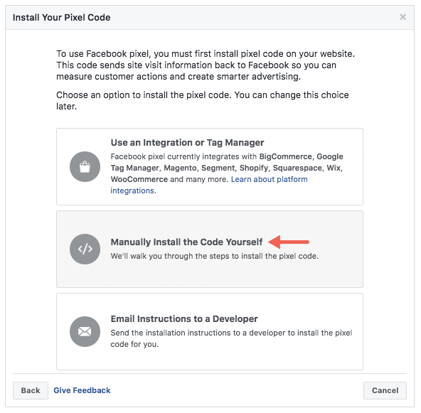 Facebook Advertising: Setup in Facebook – Checkfront Support