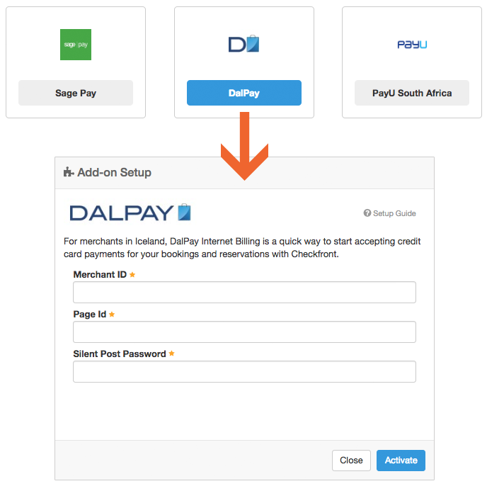 Payment Gateways: DalPay – Checkfront Support