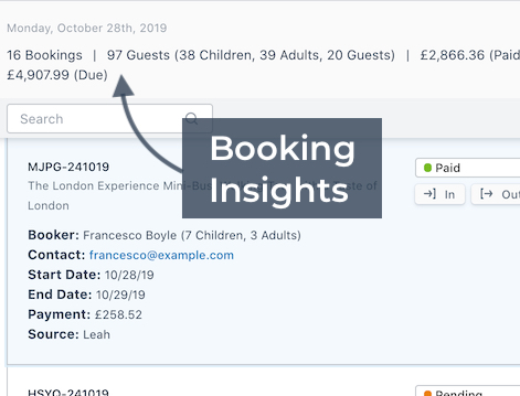 Booking Insights